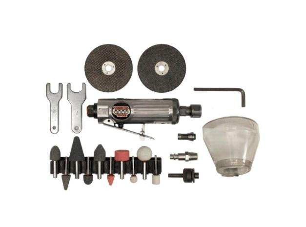 SPEEDWAY 2 in 1 Die Grinder Cut Off Cutting Tool Air Compres