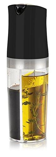 2-IN-1 Oil Vinegar Cruet Set, Makone Non-drip Bottle 4.50 oz