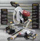 New 12'' Sliding Dual Compound Double Bevel Laser 15 amp Mit