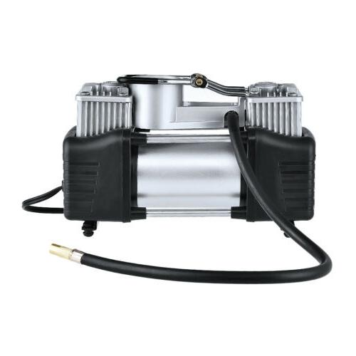 12V Double Air Compressor Tire Tyre Inflator