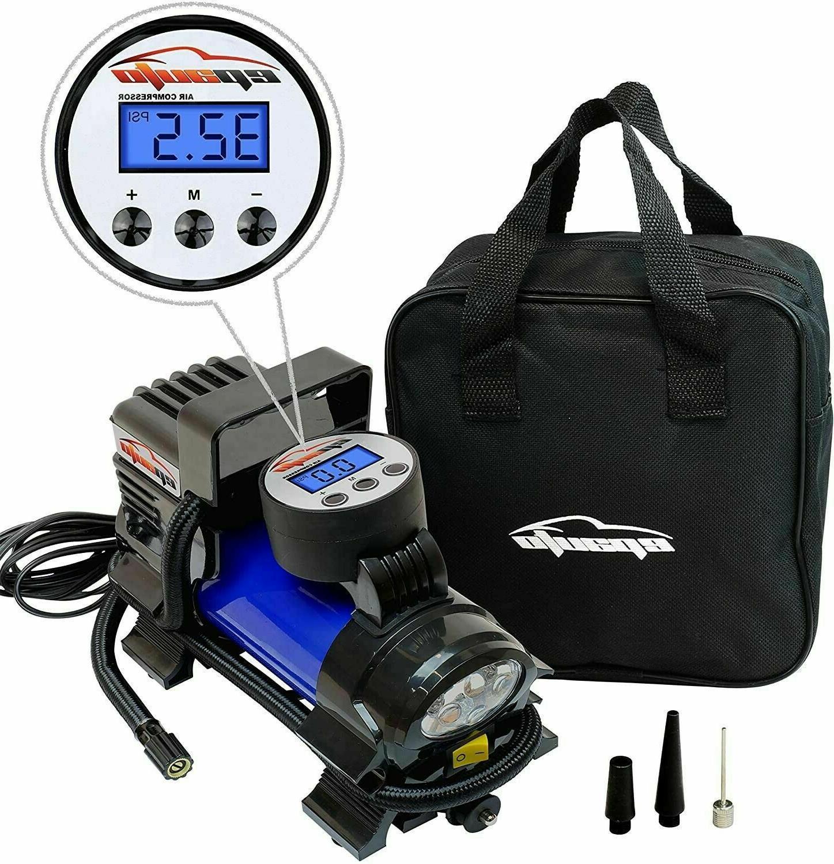 EPAUTO 🏁 Portable Digital Inflator Pump