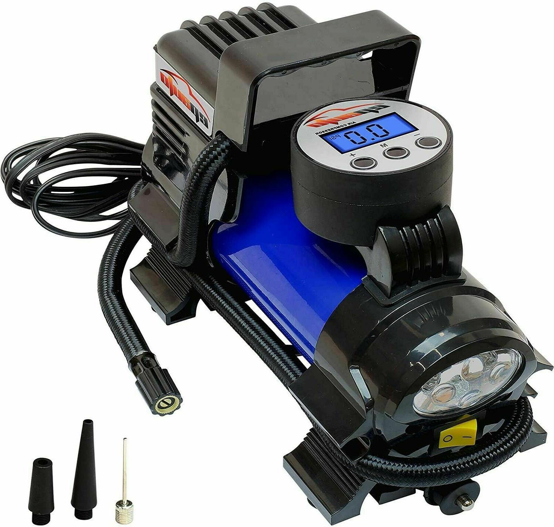 Portable Compressor Digital Tire Inflator Pump