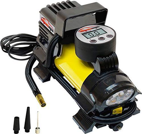 12v dc portable air compressor pump digital