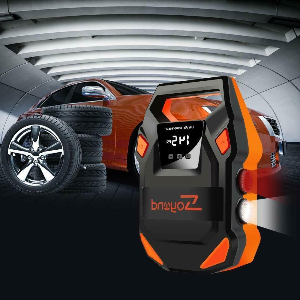 12V Air Tire Pump PSI Pressure