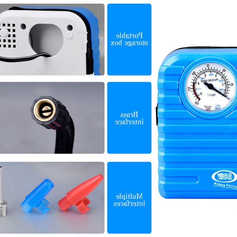12V Portable Emergency Auto Pump High Pressure <font><b>Air</b></font>