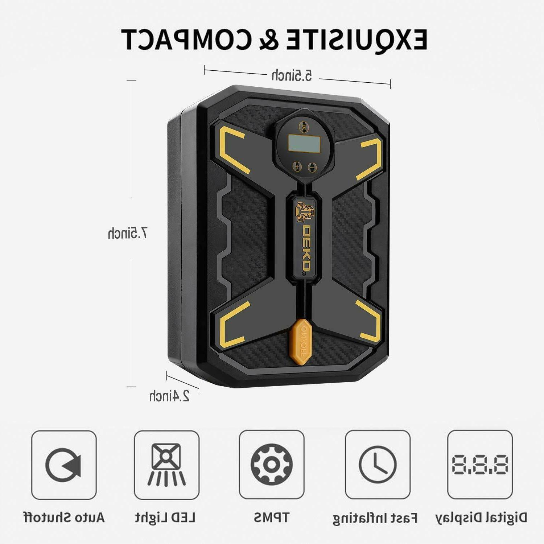 DEKO Tire Inflator 12V Portable