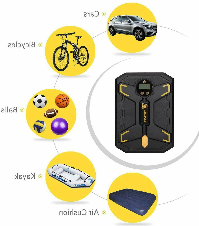 DEKO 150 Tire Inflator Portable Compressor