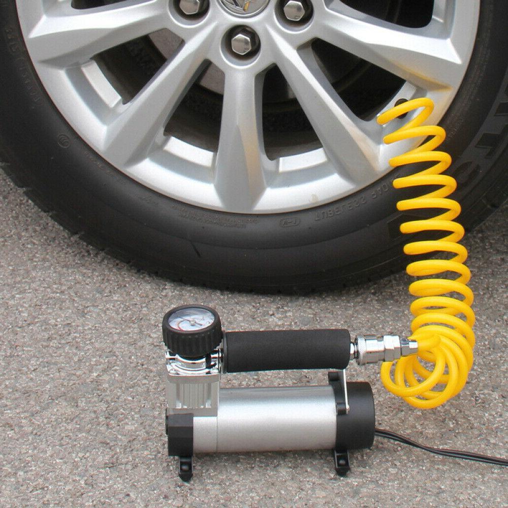 12V Portable Compressor Auto Inflator Pump