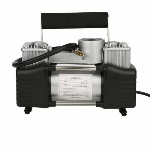 150PSI 12V Portable Mini Air Compressor Auto Electric Tire Inflator New