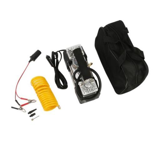 150PSI 12V Portable Air Electric Inflator Pump New