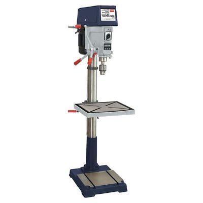 """DAYTON 16N197 Floor Drill Press,20"""",1-1/2 HP,240/480V G49209"""