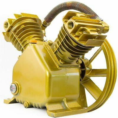 145PSI Twin Cylinder Air Compressor Pump for 5 5.5 HP Motor