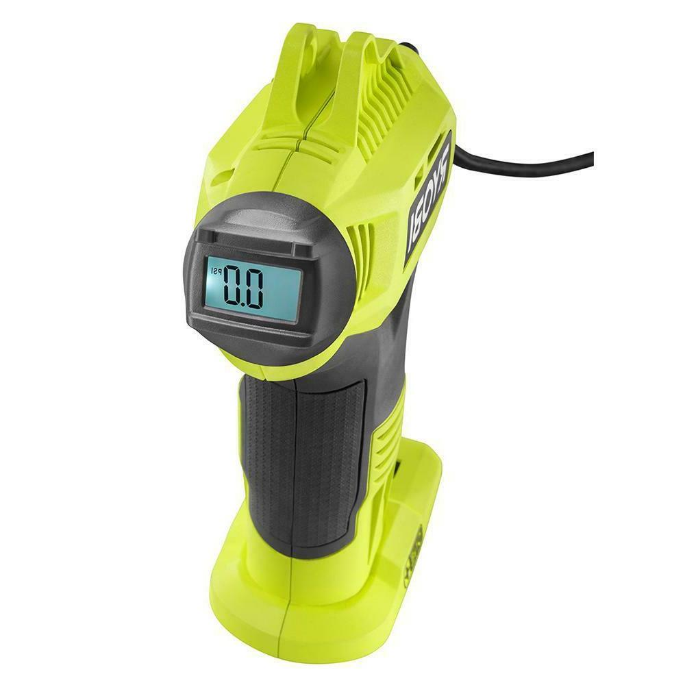 Cordless High Pressure Inflator Digital Gauge Tool Only 18-V