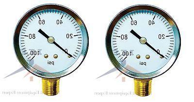 2 air compressor pressure hydraulic gauge 2