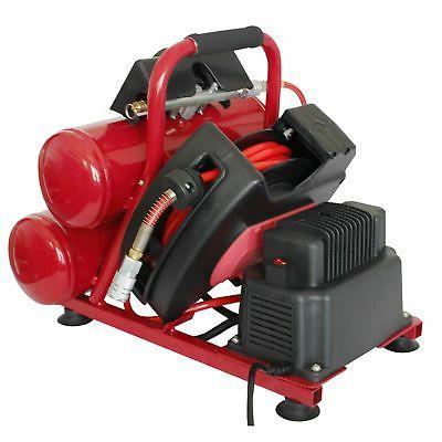 Speedway 2-gallon Compressor 25' Air Hose Auto-rewind Hose