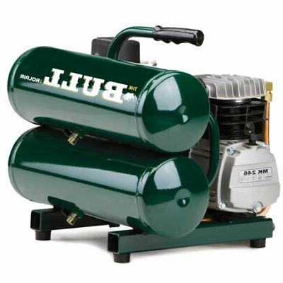 Rolair  2-HP 4.3-Gallon Contractor Twin Stack Air Compressor