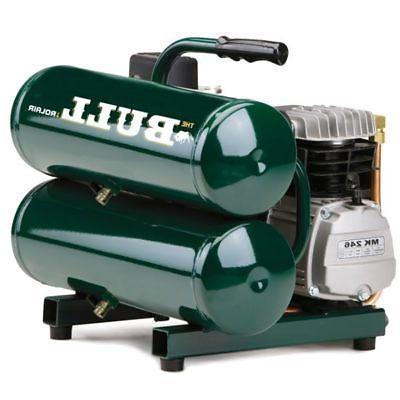 Rolair  2-HP 4.3-Gallon Contractor Twin Stack Air Compressor