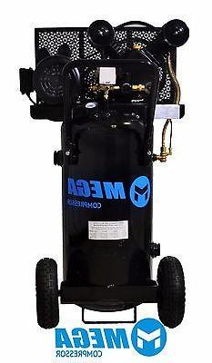 2 HP MegaPower Vertical Air Compressor, 20 Gallon, Single St