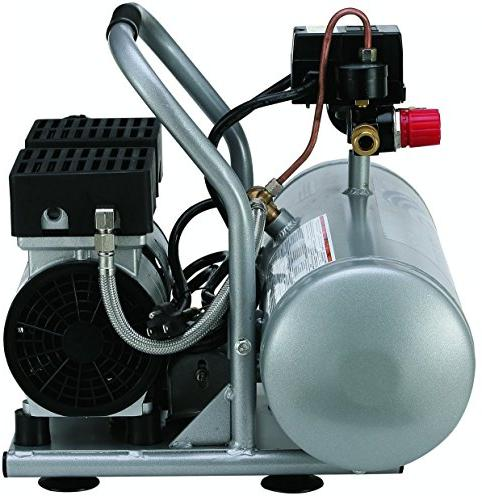 California Tools 2075A Ultra Quiet 3/4 HP Aluminum Tank Air