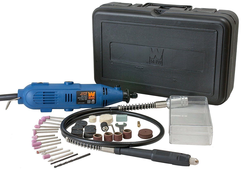 2305 rotary tool kit with flex shaft