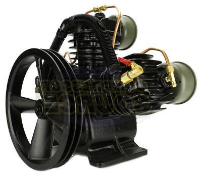 Two Stage Cast Iron Air Compressor SCFM New