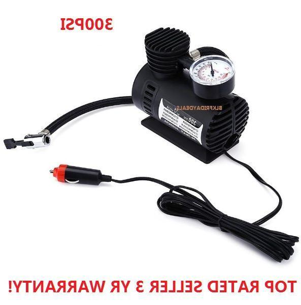 300PSI C300 12V  Mini Air Compressor Auto Car Electric Tire