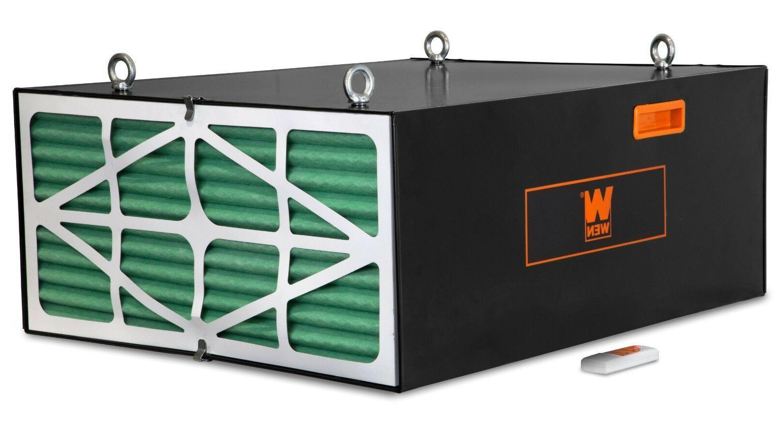 WEN 3-Speed Industrial-Strength Air Filtration
