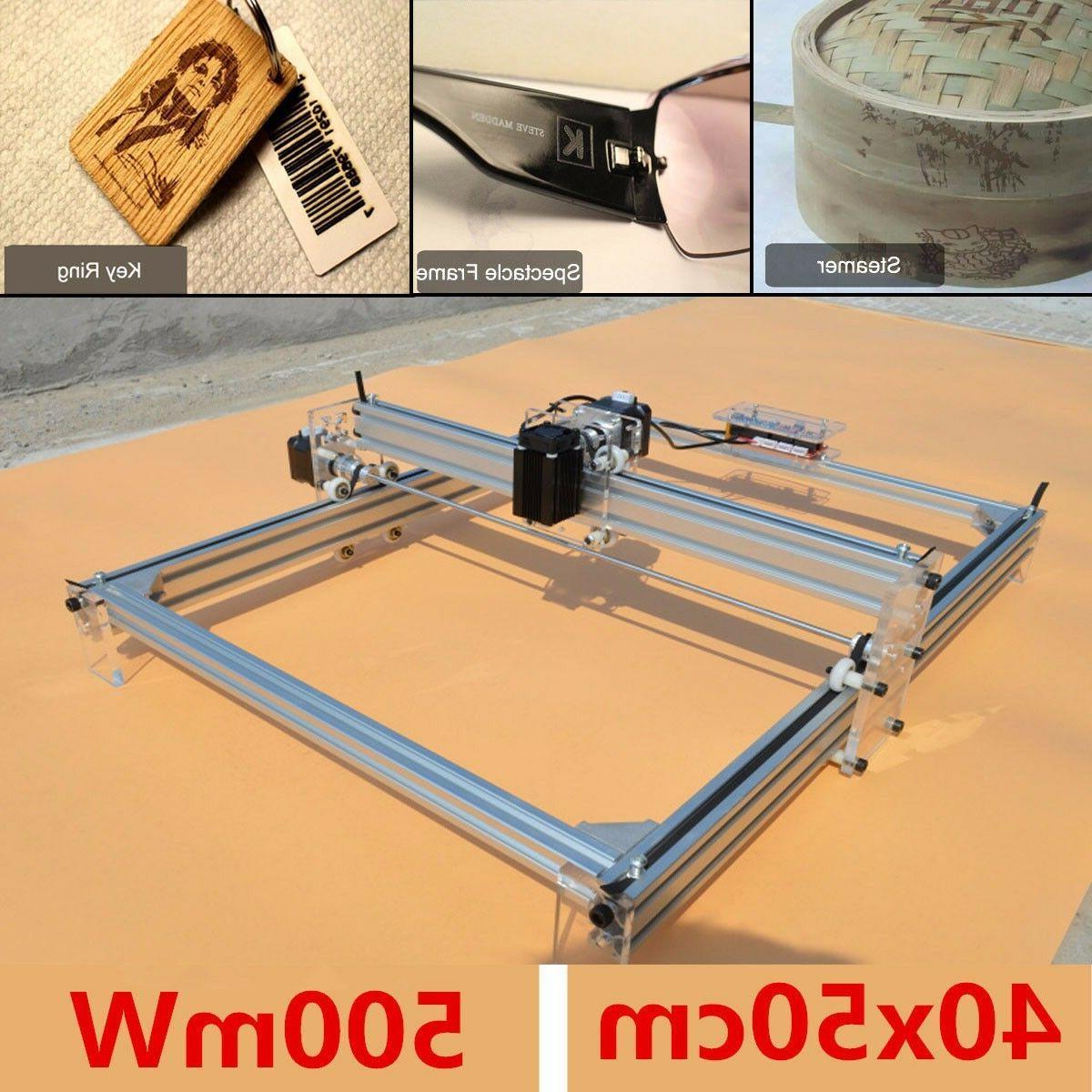 40X50CM Laser Engraving Machine Marking Printer DIY