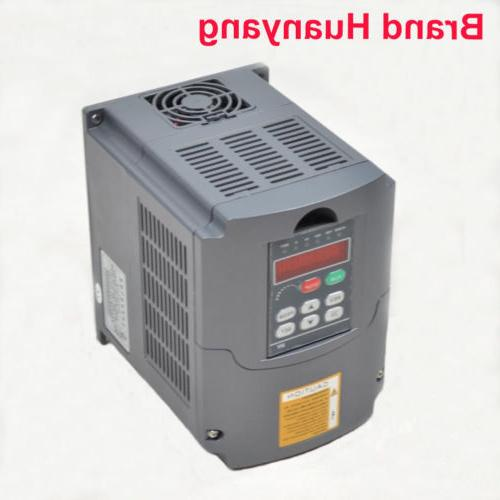 UPDATED HY 110V 3KW 4HP VARIABLE FREQUENCY DRIVE INVERTER VF
