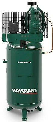 Champion 5 HP 2 Stage 1 Phase 230 Volt 19.1 CFM Air Compress