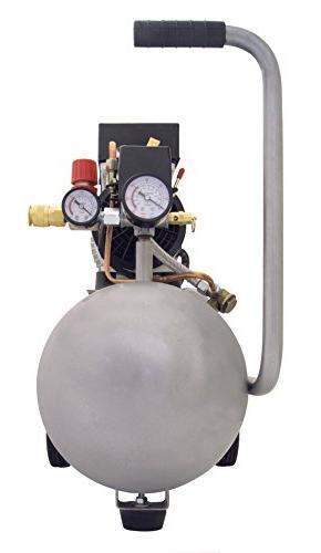 California Ultra Quiet and Oil-Free 1.0-HP Tank Air
