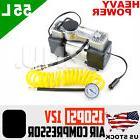Best 150PSI 55L/MIN HEAVY DUTY AIR COMPRESSOR Inflating 4WD