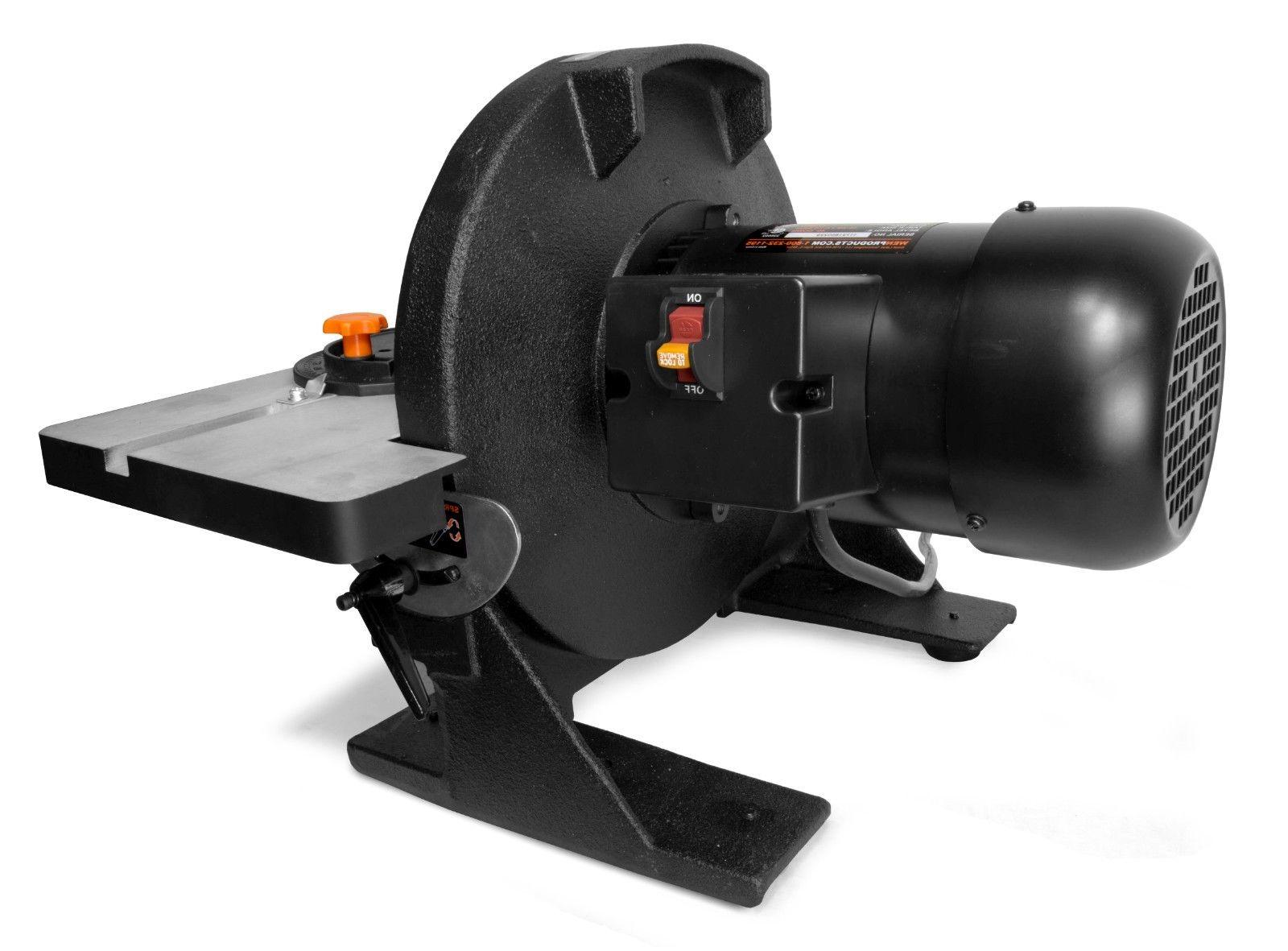 WEN 65812 Disc with Gauge & Dust Collection System
