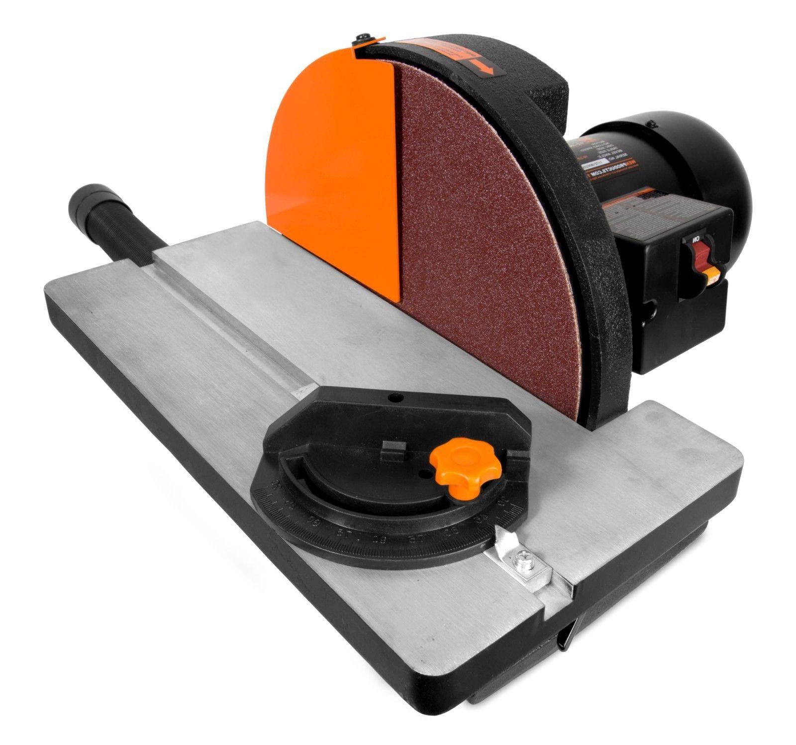 WEN 65812 Disc Sander with Gauge Dust System