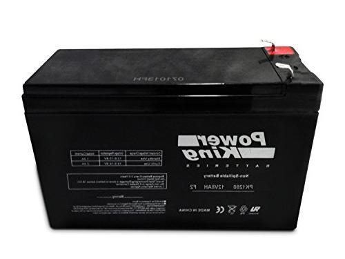 7 2ah sla rechargeable battery