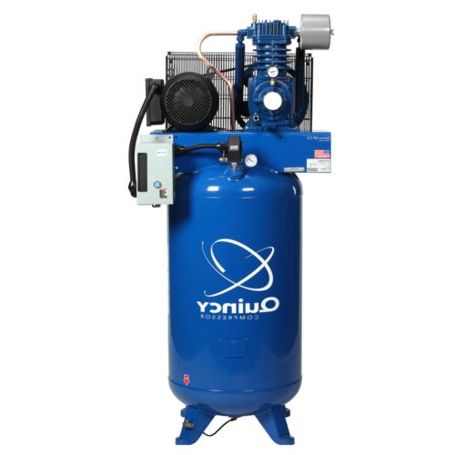 Quincy QP Pro 7.5-HP 80-Gallon Pressure Lubricated Two-Stage