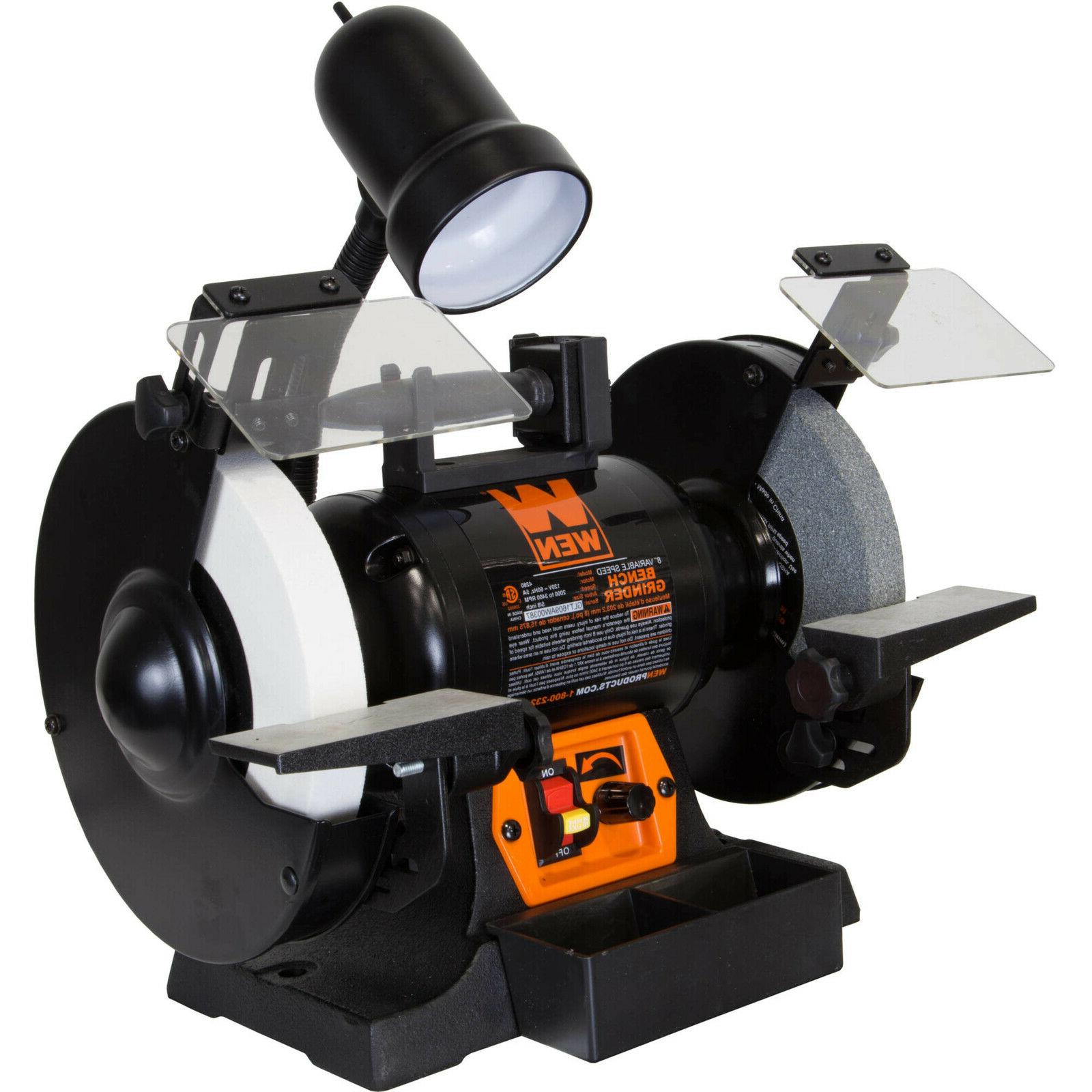 8 bench grinder variable speed
