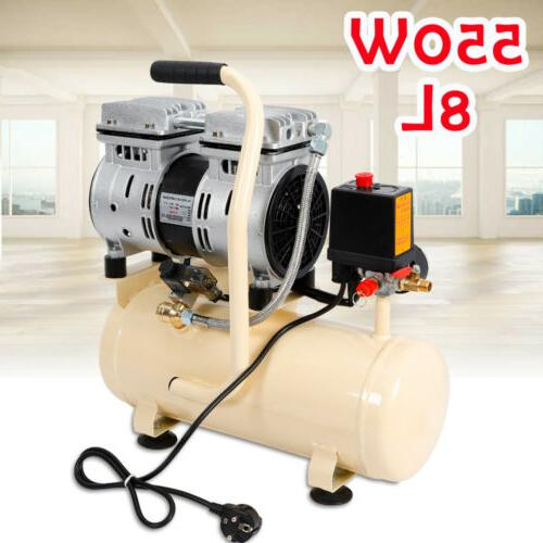 550w air compressor piston air compressor 8l
