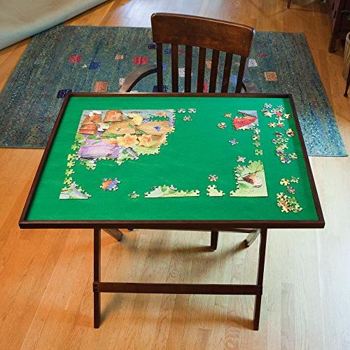 Bits and Pieces - Foldaway Jigsaw Puzzle Table - Set Up Puzz
