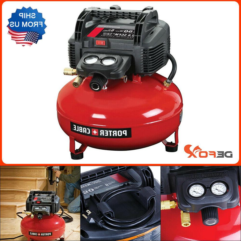 Porter-Cable C2002 150 P.S.I. 6 Gallon Oil Free Compressor