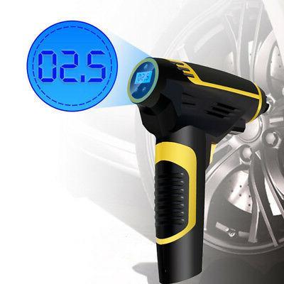 Air Compressor Handheld Portable Built-in Light Car Pump Inflator Tire