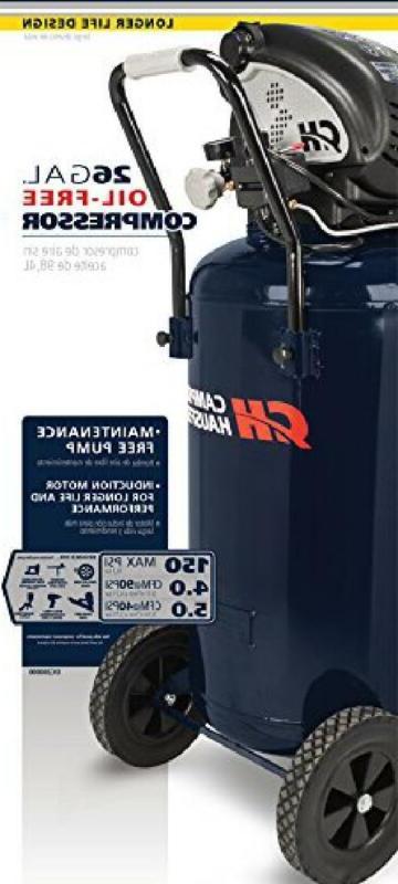 Air 26 Vertical Portable OilFree 4 CFM 90 13 Motor