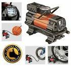 Air Compressor LED Car 12V Portable Heavy Duty Powerful Pump