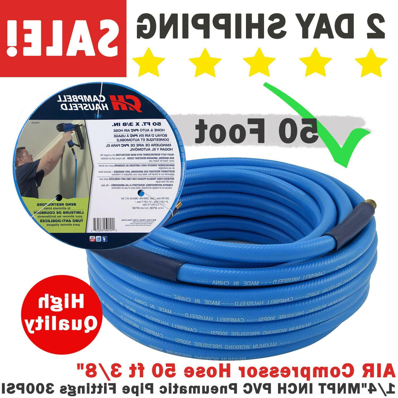 air compressor hose 50 ft 3 8