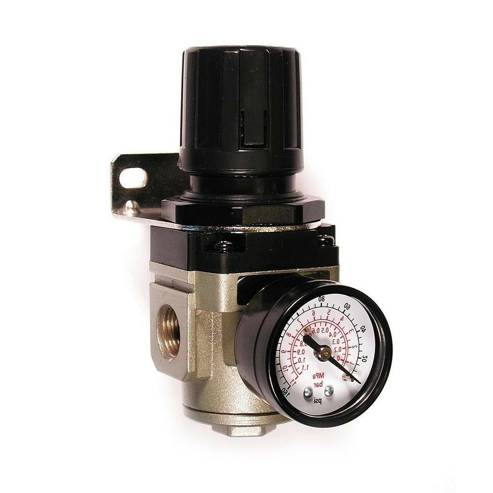 Primefit 3/8 Inch Air Compressor Pneumatic Pressure Regulato