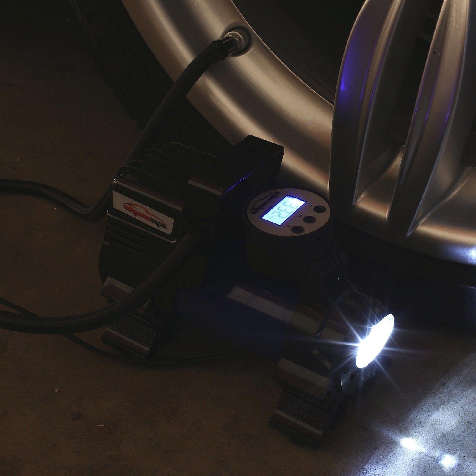 12V Air Digital Tire Flashlight For