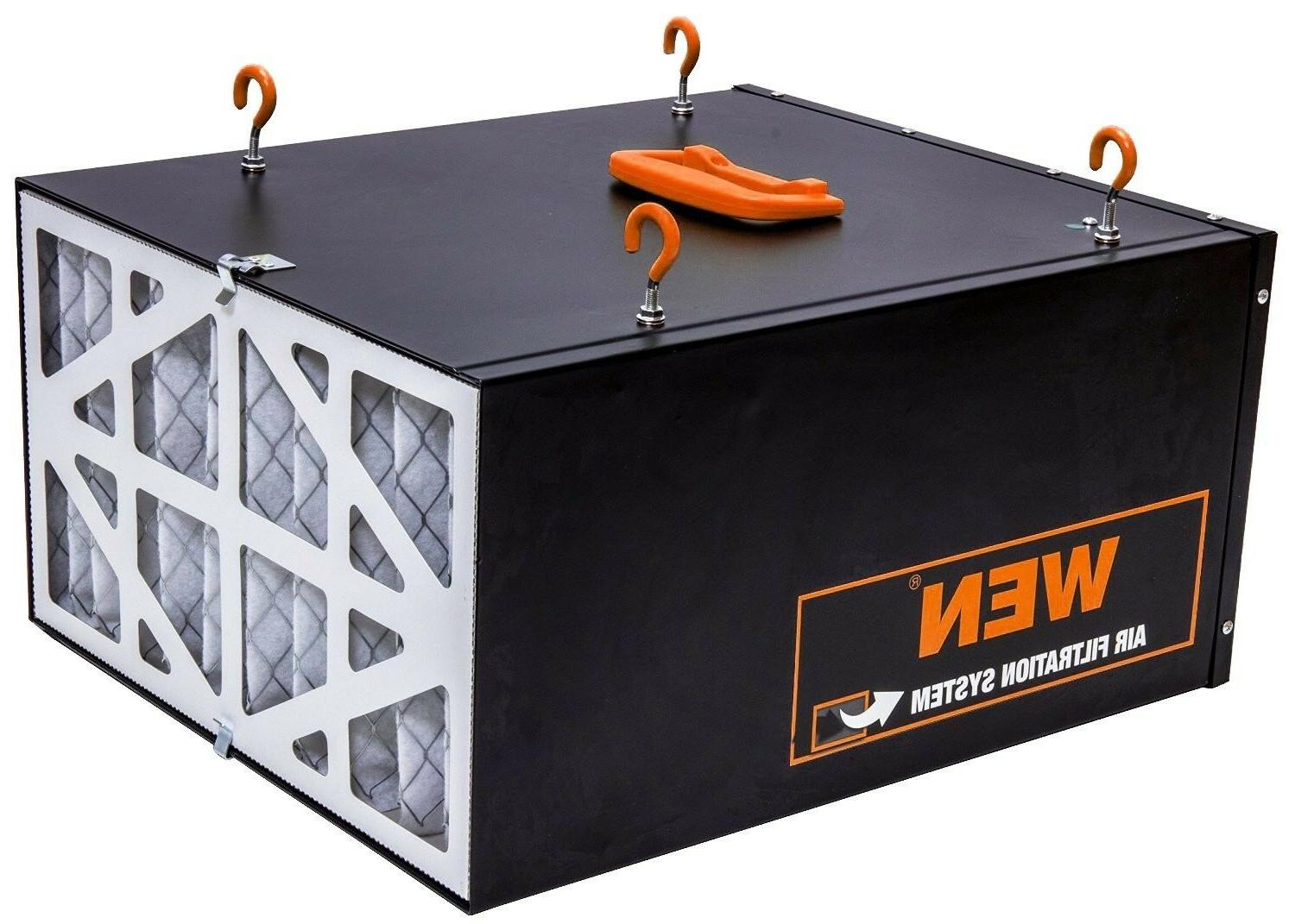 WEN Air Filtration System 3-Speed Remote-Controlled Filter Dust
