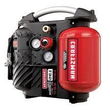Craftsman AirbossTM 1.2 Gallon Oil-less Air Compressor and H