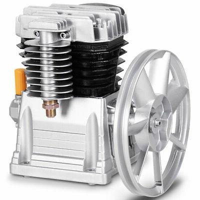 aluminum 3hp air compressor head pump motor