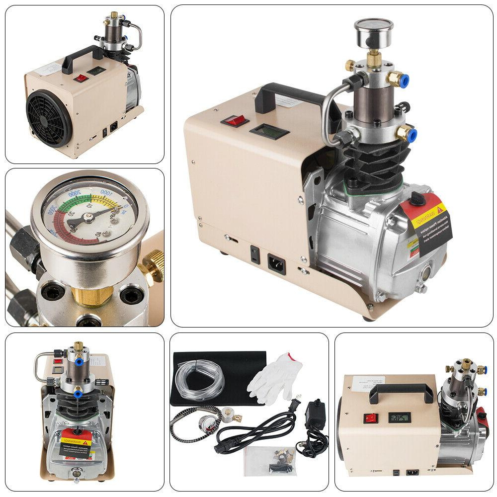High Pressure Air Pump Electric Air Compressor for Airgun Sc